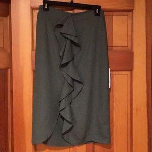 Zara linen skirt.